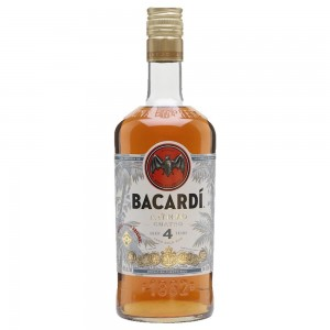 ACTIVE# Bacardi Anejo Cuatro Aged 4 Years 70cl