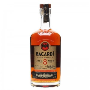 ACTIVE# Bacardi Rum 8 Anos 70cl